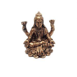 Богиня Лакшми в лотосе