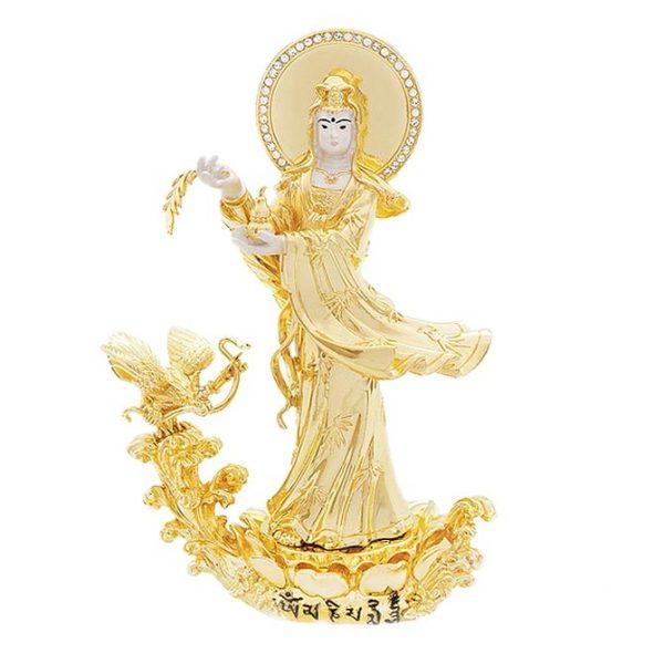 Богиня Милосердия Гуан Инь с Гарудой