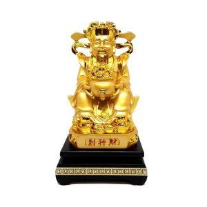 Бог Богатства Туа Пех Конг с Вазой Изобилия