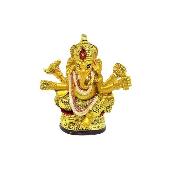Ганеша индийский Бог богатства с зеркалом