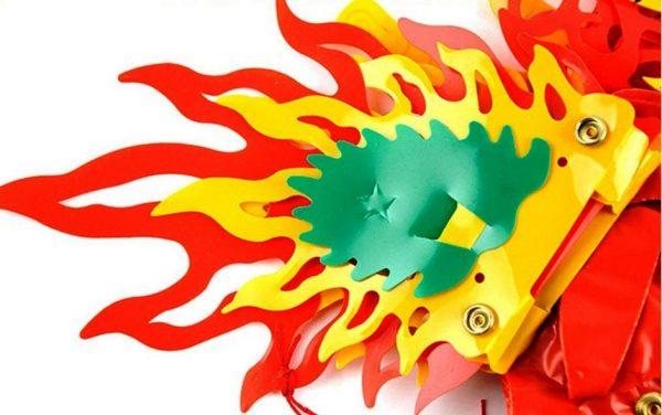 хвост бумажного дракона