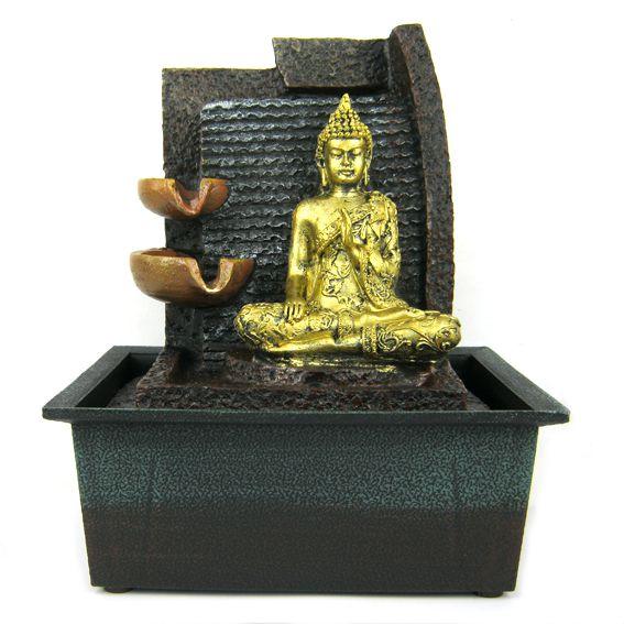 Декоративный фонтан Будда