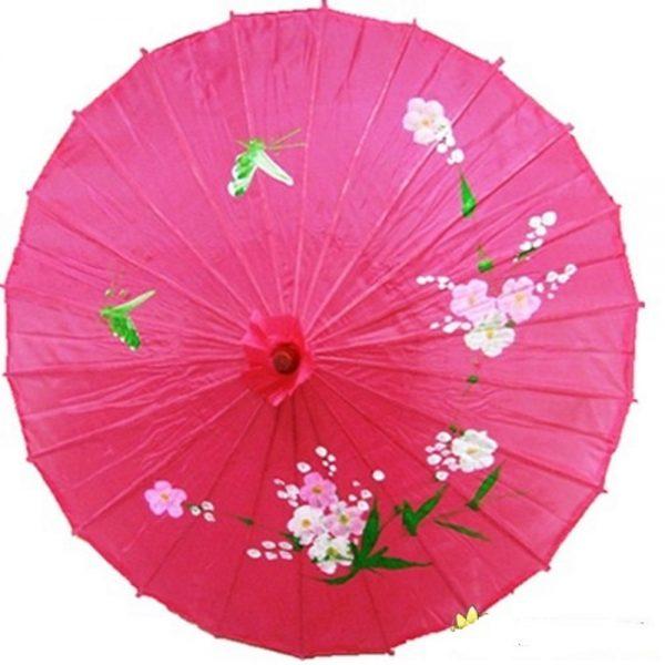 Китайский зонтик розовый