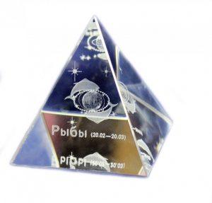 Пирамида со знаком зодиака