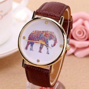 Часы наручные со слоном