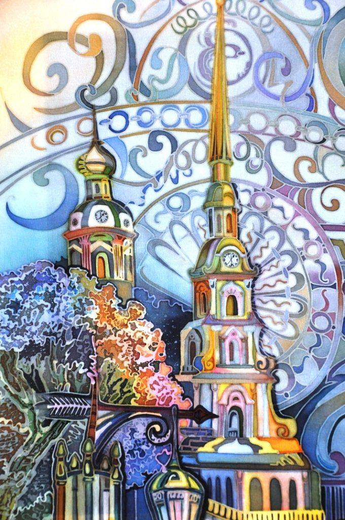 Картинки художников батика из с-петербурга, электрик прикольные