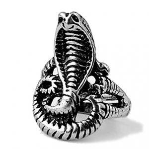 Кольцо Кобра безразмерное