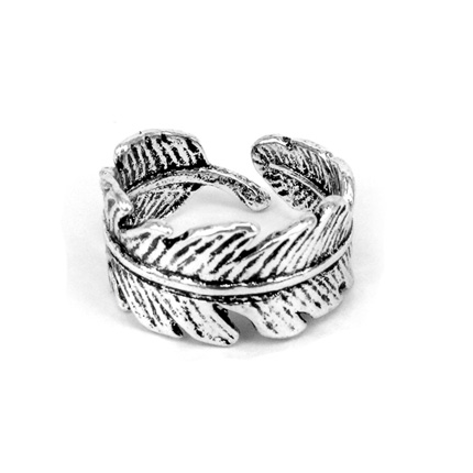 Кольцо Перо безразмерное