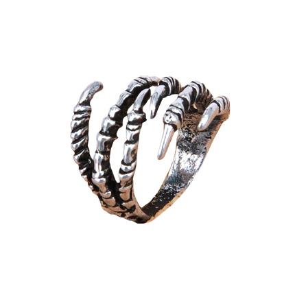 Кольцо лапа Дракона безразмерное