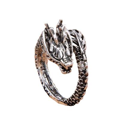 Кольцо с Драконом безразмерное