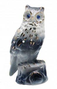 Статуэтка сова фарфор