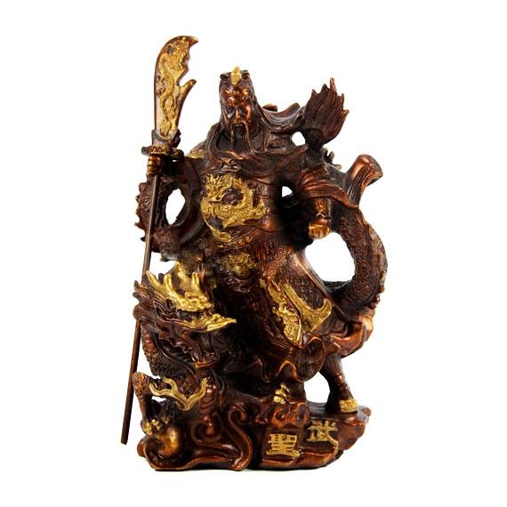 Статуэтка Воин на драконе