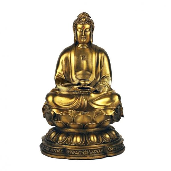 Статуэтка Будда в лотосе