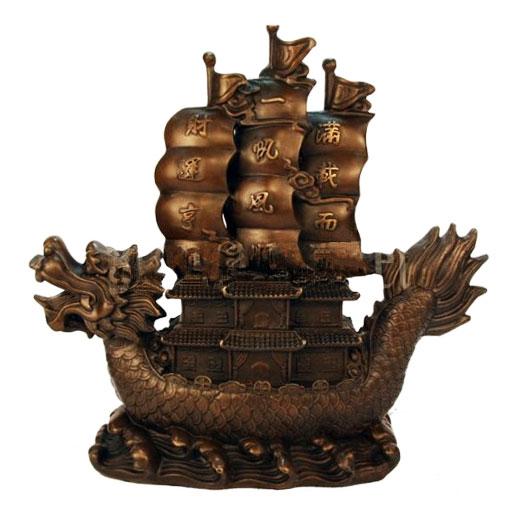 Статуэтка Корабль с богатствами