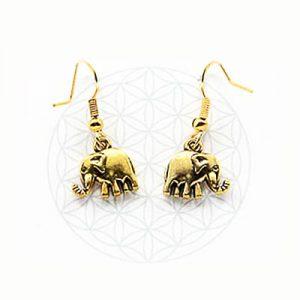 Серьги восточные Слон