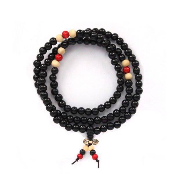 Четки буддийские Ваджра черные