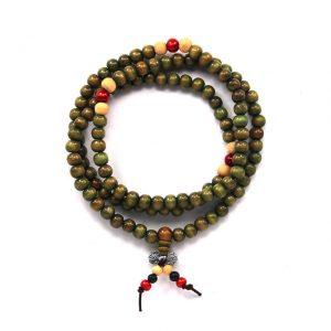 Четки буддийские Ваджра зелёные