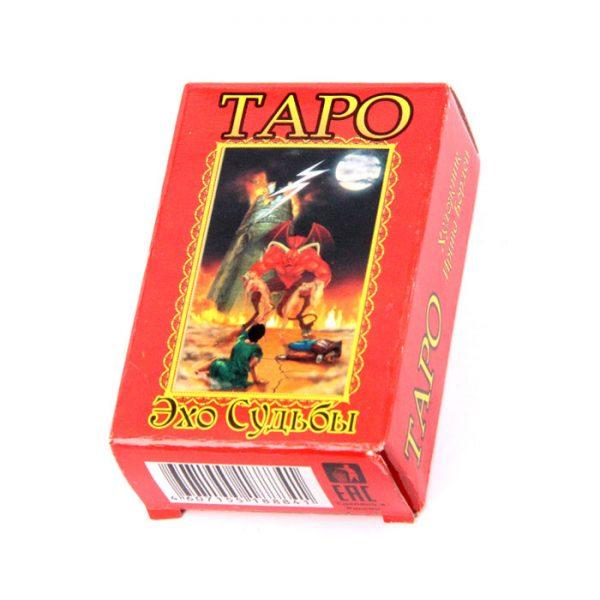 Карты Таро Эхо судьбы маленькие