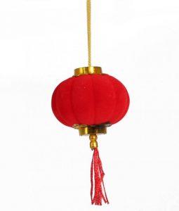 Декоративный китайский фонарик маленький