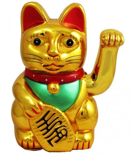 Китайский Кот удачи большой