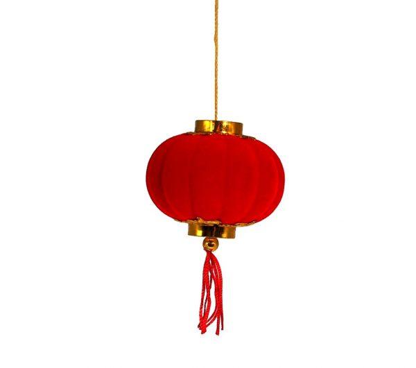 Декоративный китайский фонарик маленький на присоске
